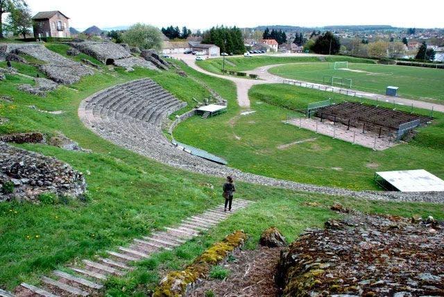 Teatro romano Autun Foto Didi Travel