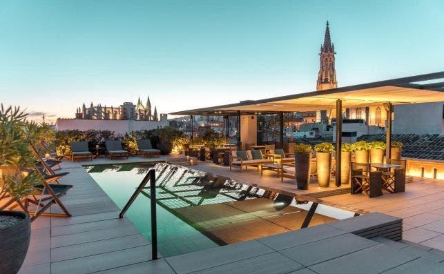 Terraza Singular. Foto Hotel Sant Francesc
