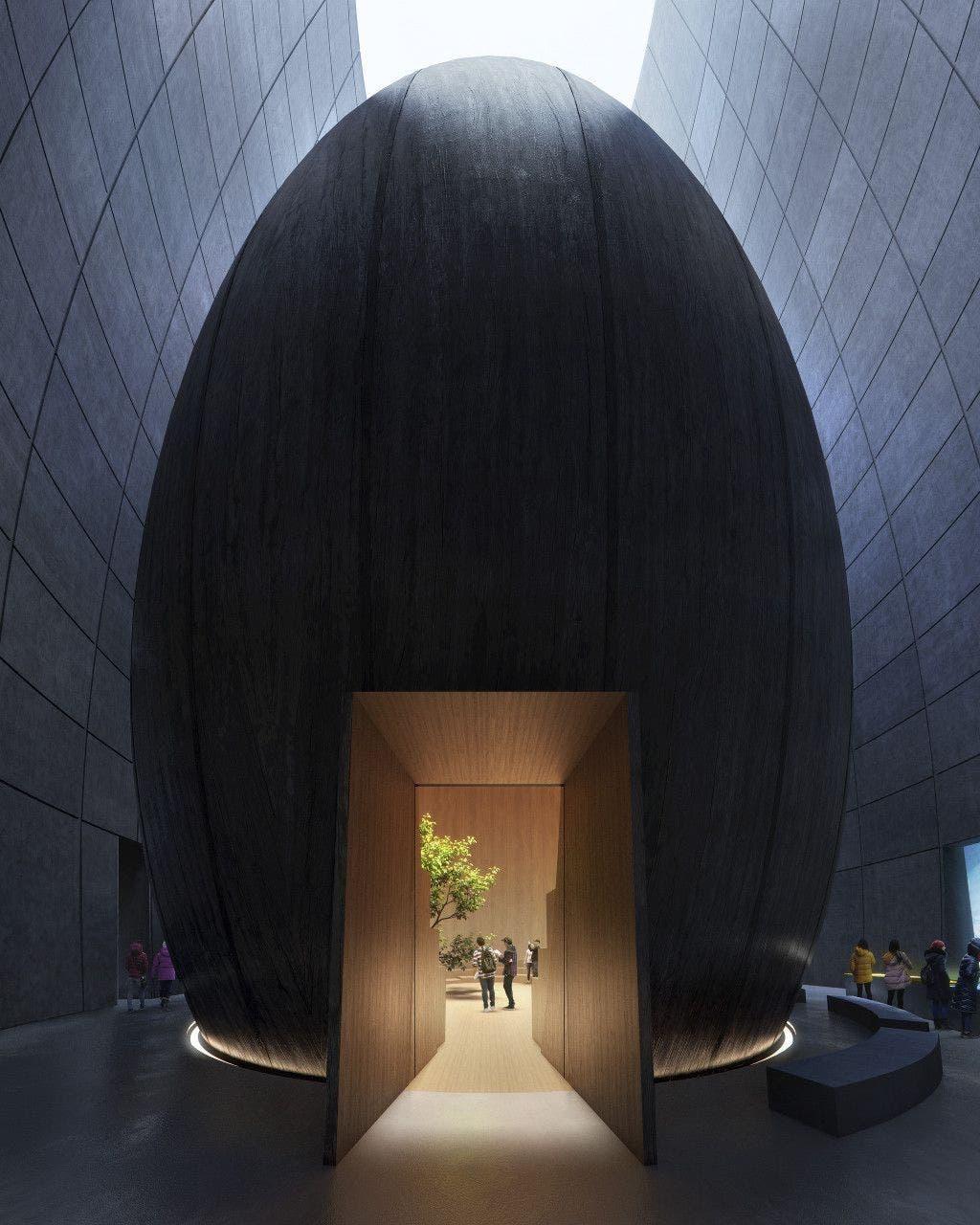 The Arc centro de visitantes. Foto: Snohetta.