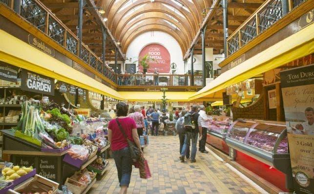 The English Market, Cork. Foto: Turismo de Irlanda.