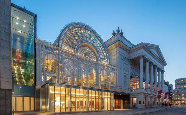 The Royal Opera House, Londres.