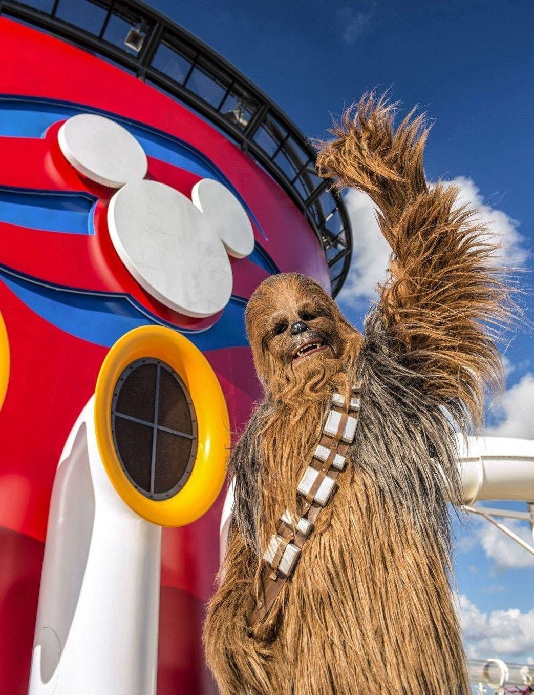 Todos los personajes de la saga viajan a bordo. Foto: Disney Cruises.