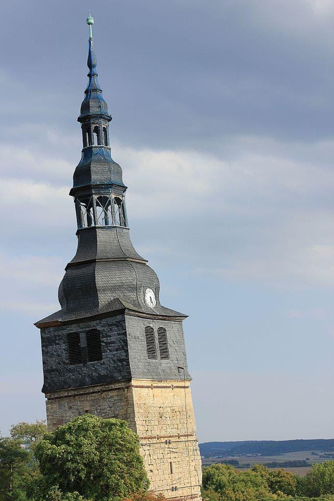 Torre de Bad Frankenhausen. Foto Wikimedia Commons.
