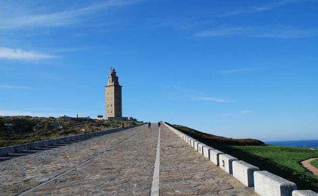 Torre de HeÌrcules. Foto: Murilo Osorio | Pixabay.