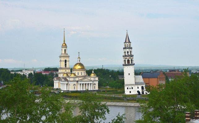 Torre Nevyansk Foto Wikimedia Commons.