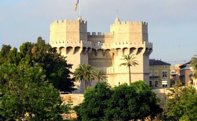 Torres Serranos, Valencia. Foto Pixabay