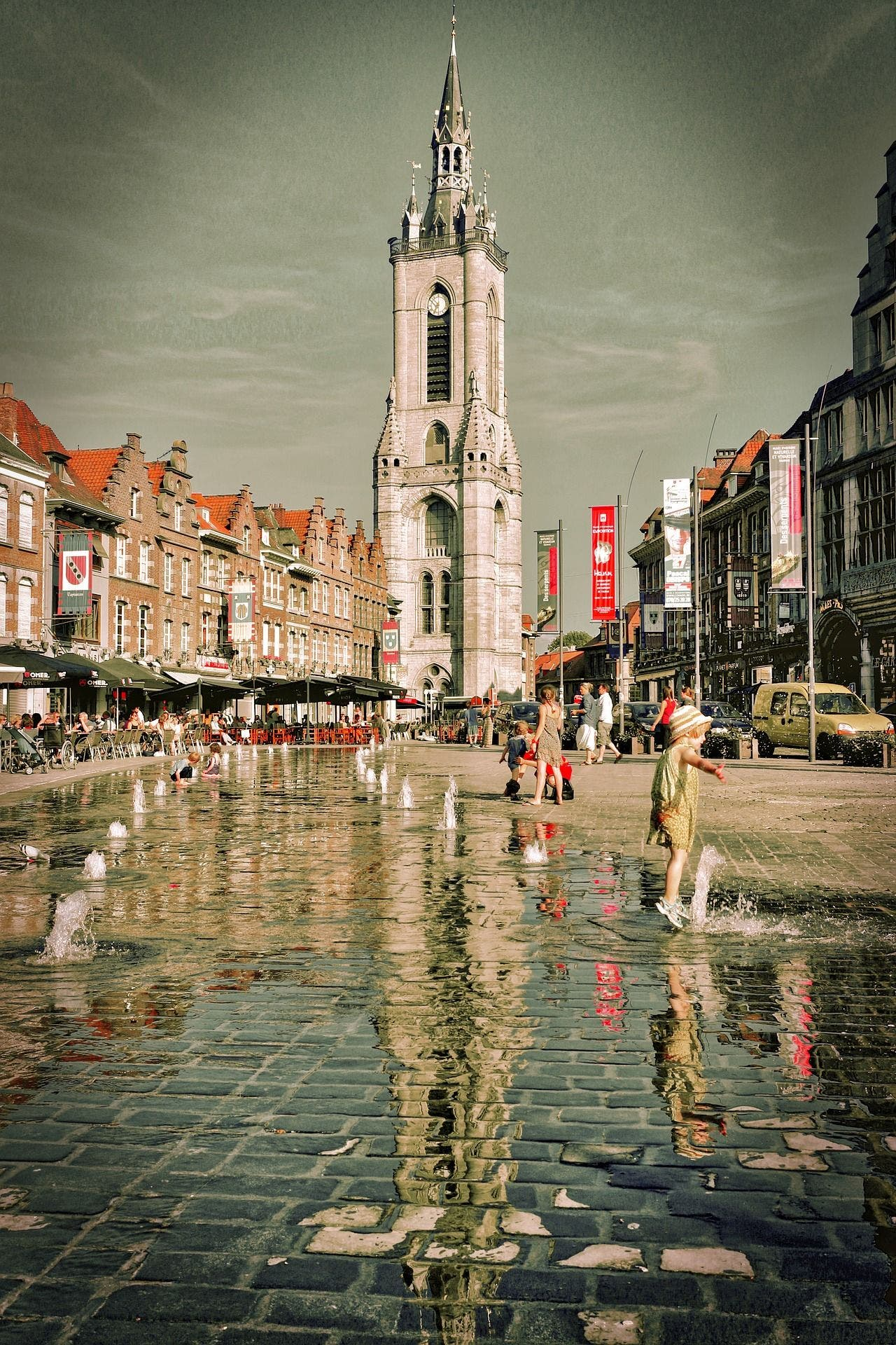 Tournai. Foto: Jean Marie Huet | Pixabay.