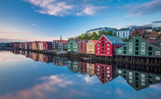 Trondheim. Foto Knut Aage Dahl / Visit Norway.