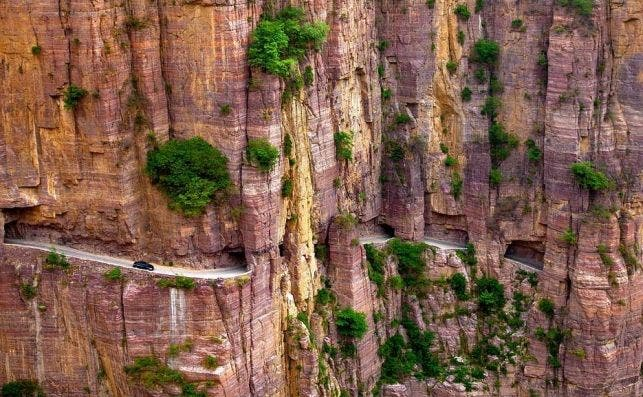 Tunel de Guoliang. Foto Flickr.
