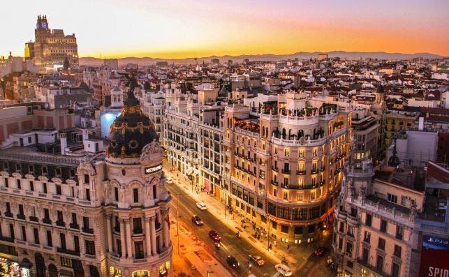 Una de las imaÌgenes icoÌnicas de Madrid. Foto Florian Wehde Unsplash