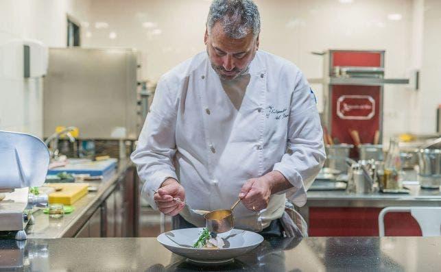 Valencia Culinary Festival 2020. Cena conmemoracioÌn MartiÌn Berasategui Alejandro del Toro