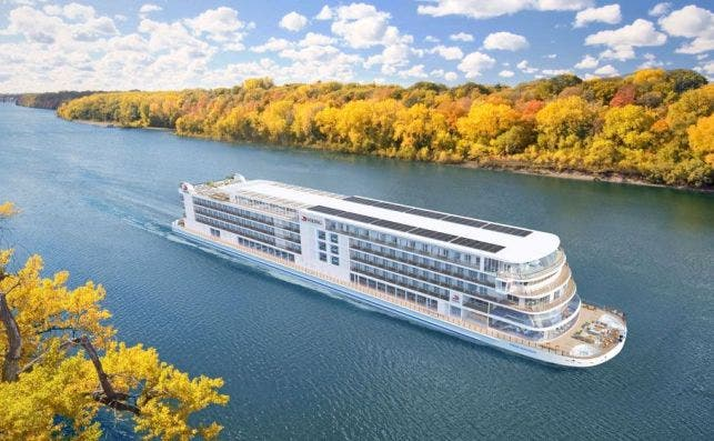 El Viking Mississippi debutará en el 2022. Foto: Viking Ocean Cruises