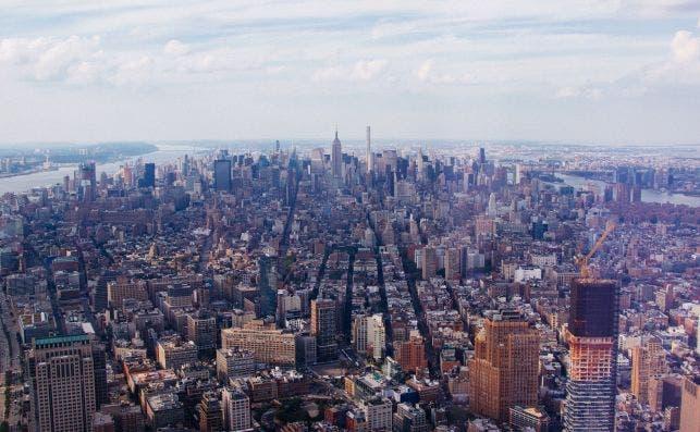 Vistas desde One World Observatory. Foto Unsplash