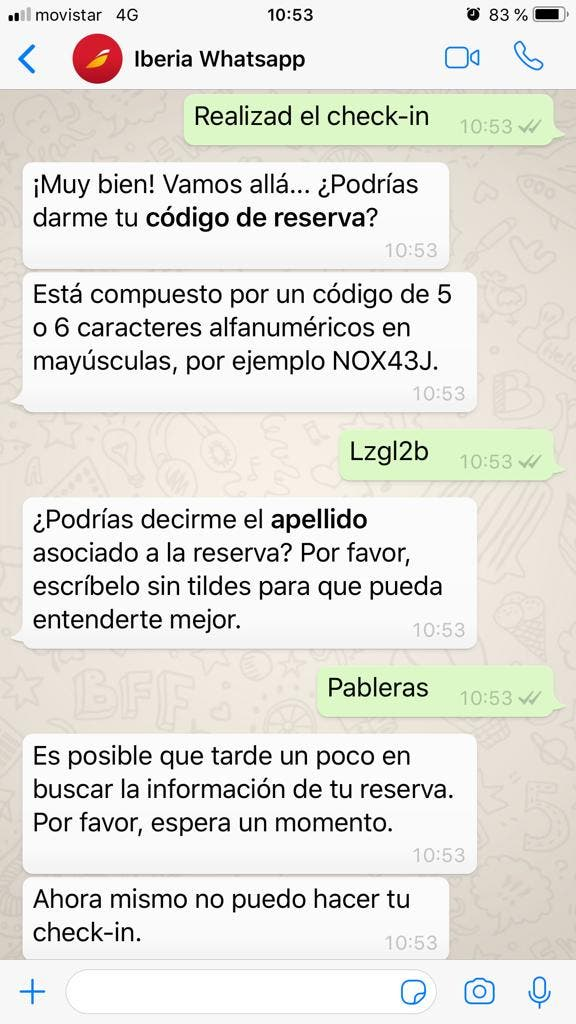 WhatsApp Iberia