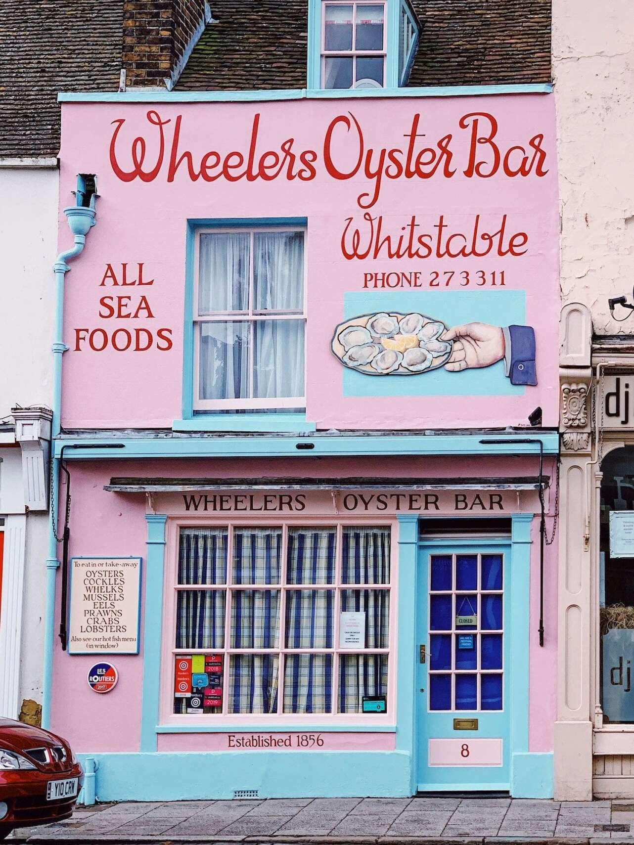 Wheelers Oyster bar. Foto: Macarena EscrivaÌ.