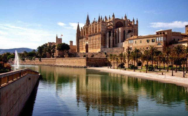 "Catedral de Santa María, ""La Seu"", en Palm de Mallorca. Fotografía: Yves Alarie"