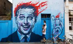 Londres se convierte en un gigantesco mural de arte callejero