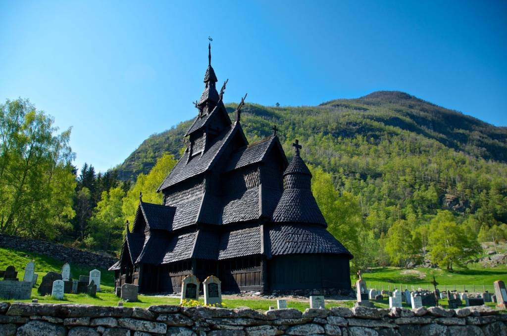 Iglesias de madera Noruega