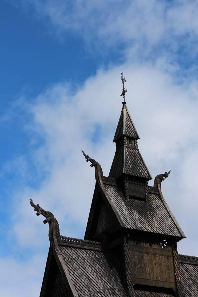 Iglesias madera Noruega
