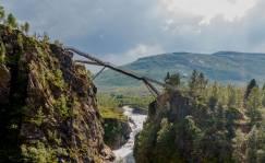 Ya puedes flotar sobre la cascada noruega de Vøringsfossen