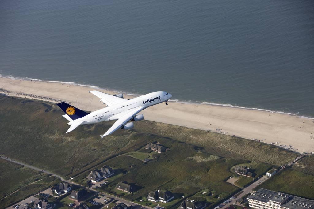 Lufthansa aún cuenta con 12 A380 en su flota. Foto: Lufthansa