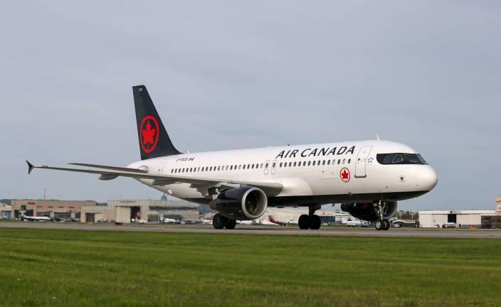 Air Canada usa los A320 para sus rutas domésticas. Foto: Air Canada