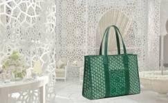 Arabesco es el bolso creado por Goyard para Royal Mansour Marrakech.