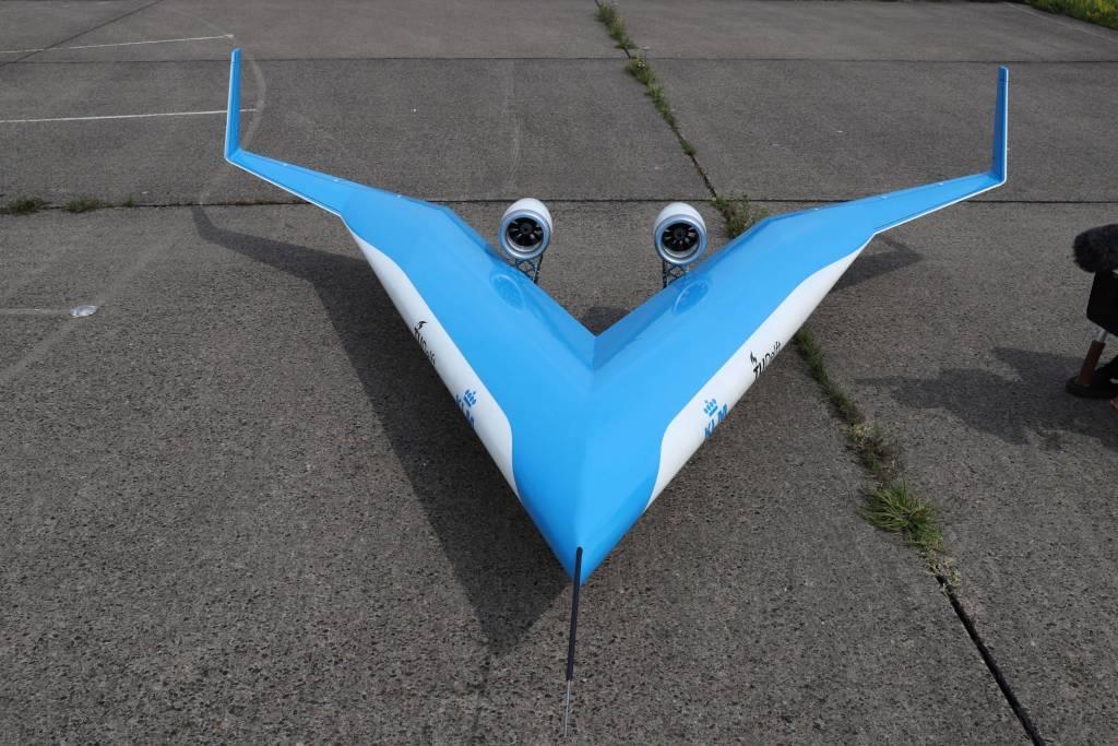 La idea es que el Flying-V pueda transportar a 314 pasajeros. Foto: TU Delft