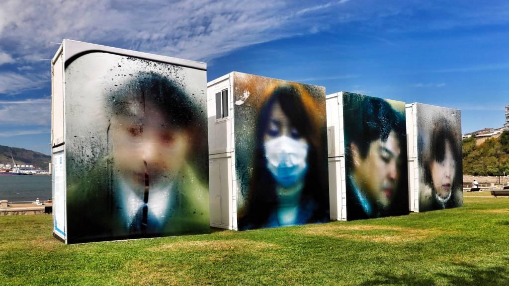 'Tokio Compression', de Michael Wolf. Foto: Getxophoto.