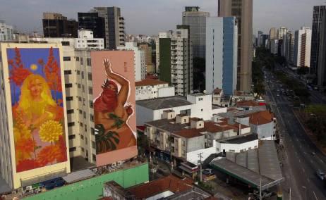 NaLata Festival: São Paulo de mural en mural