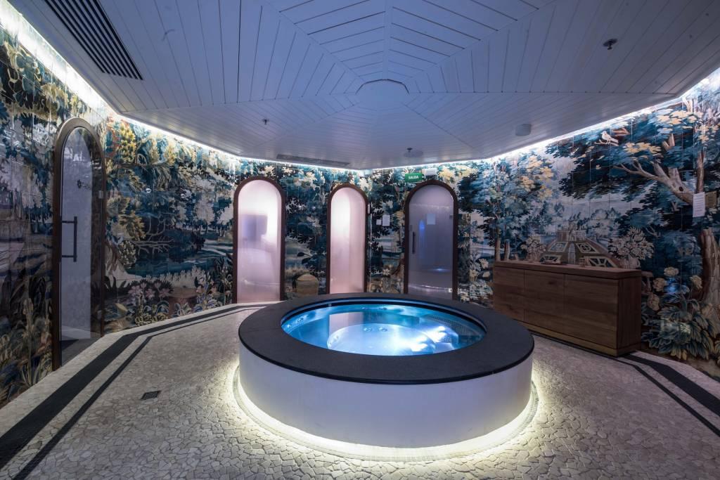Spa del Hotel Bless Madrid. Foto: Diego Puerta.
