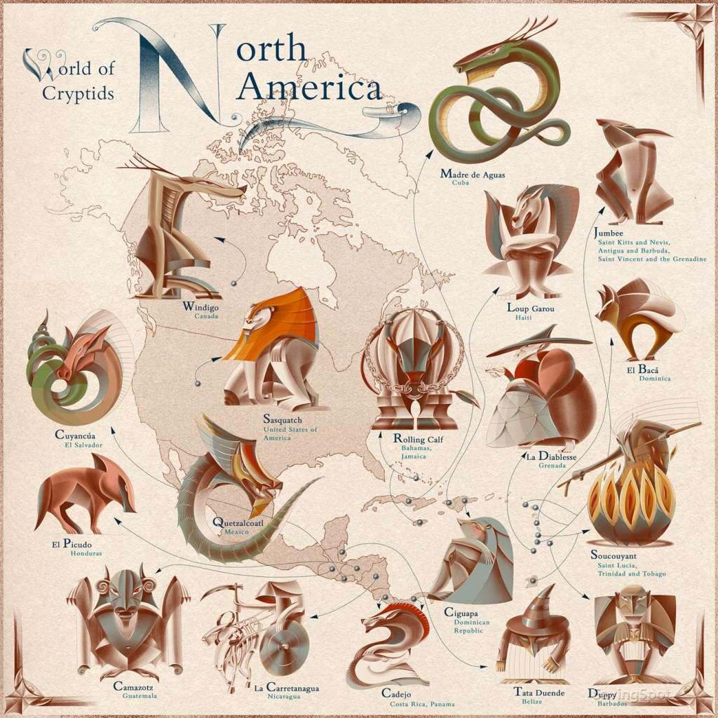 Monstruos de Norteamérica. Foto: Cash Net USA