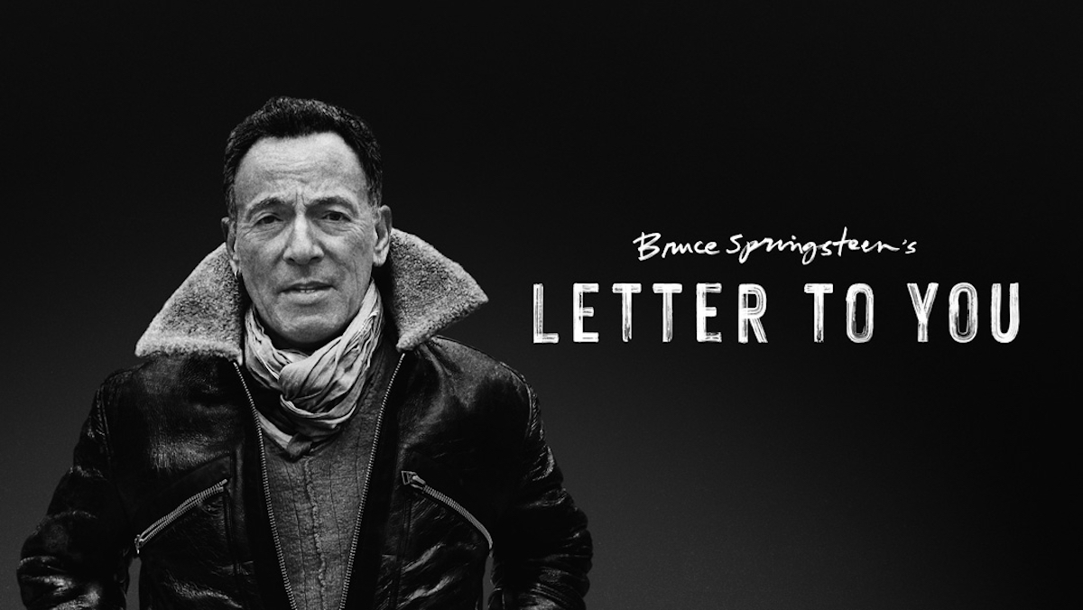 Bruce Springsteen Letter to You. Foto Apple TV.