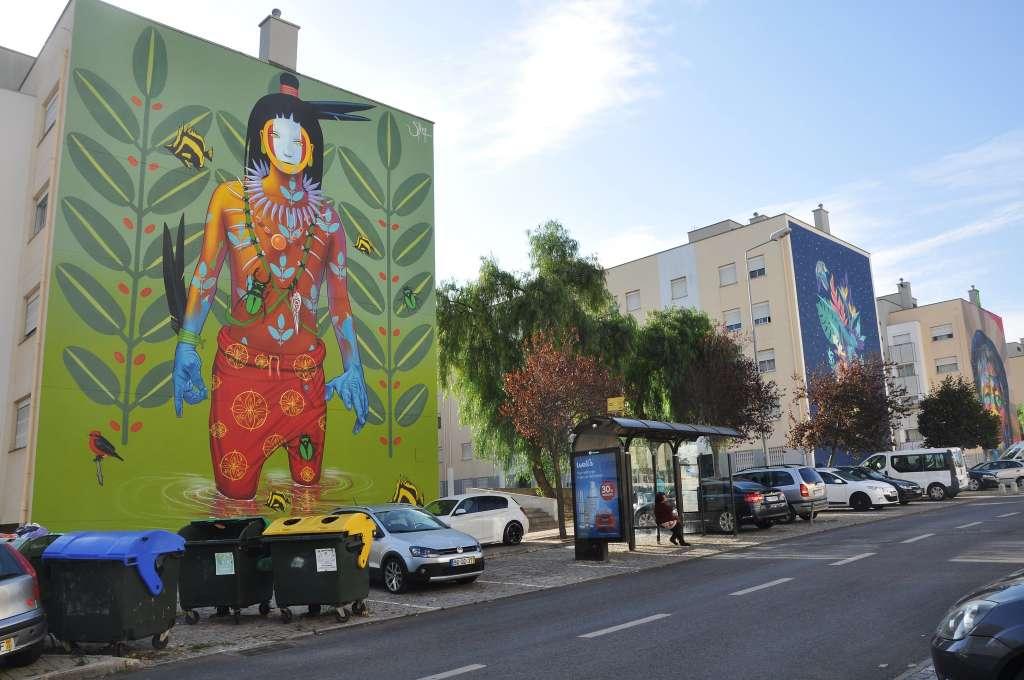 Arte urbano en Marvila Foto Jaime Silva - Flickr