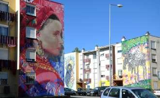 Arte urbano en Quinta da Mocho Foto Jaime Silva - Flickr