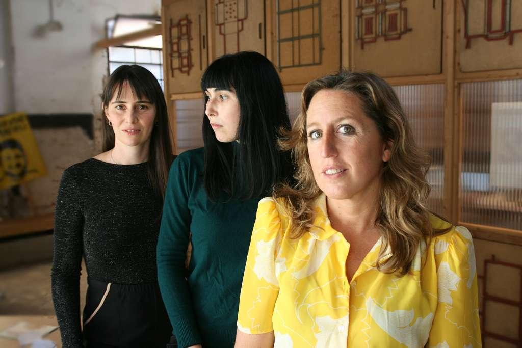 Begoña Ugalde, Lola Nieto y Carmen Berasategui. Foto: @Marta Calvo.