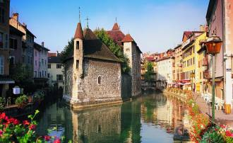 Canales de Annecy. Foto: Getty Images.
