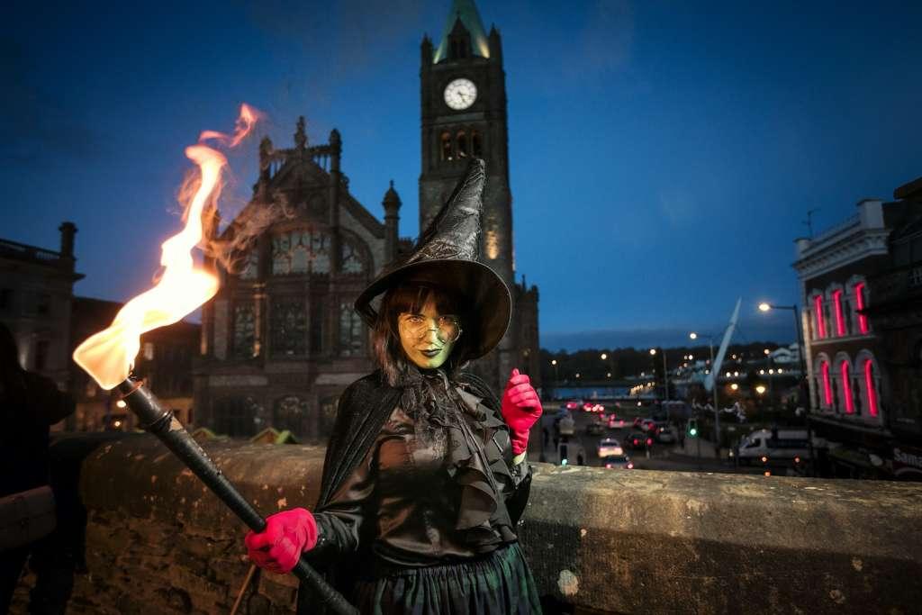 Derry Halloween. Foto Turismo de Irlanda.