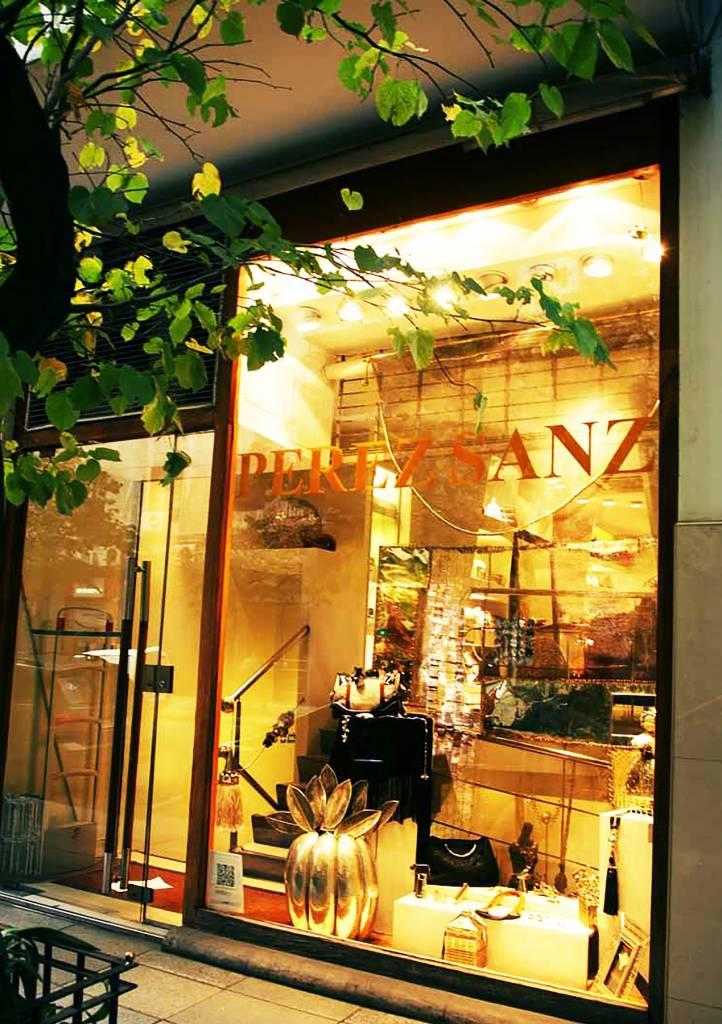 Fachada de la boutique de Julio Pérez. Foto Manena Munar.