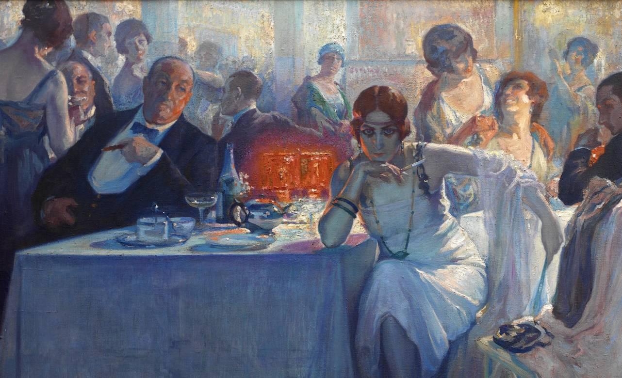 Falenas Carlos Verger Fioretti (1872 - 1929) Óleo sobre lienzo 1920 Madrid, Museo Nacional del Prado