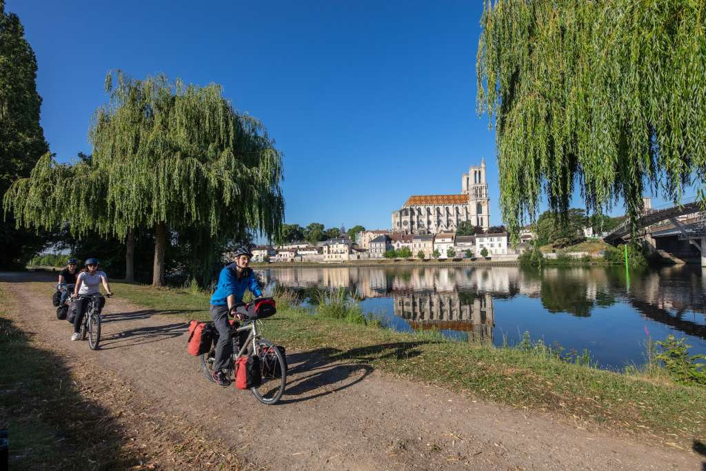 La ruta atraviesa 420 km. Foto David Darrault Seine a Velo