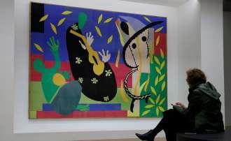 Retrospectiva de Matisse en el Centro Pompidou. Fot Exposición Matisse en el Pompidou de París. Foto Ian Langsdon EFE EPA.