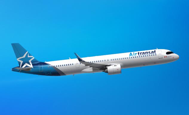El A321LR necesitó 8,32 horas para volar de Montreal a Atenas. Foto: Air Transat