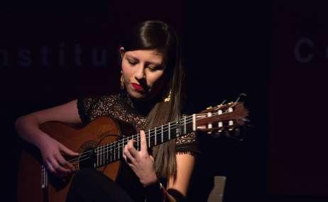 Andrea Salcedo. Foto @Casey Mitchell, cortesía SUMA Flamenca