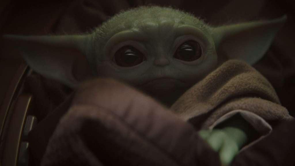 Baby Yoda-Foto Disney+