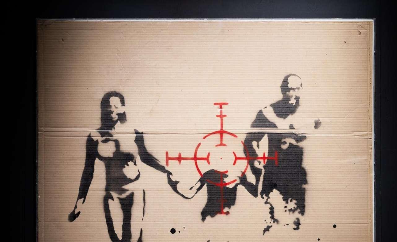 Banksy recala en Madrid