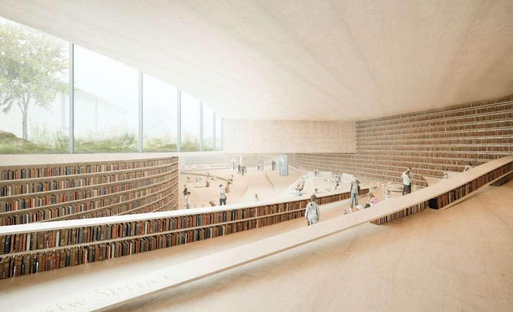 Biblioteca Ibsen. Foto Kengo Kuma & Associates03