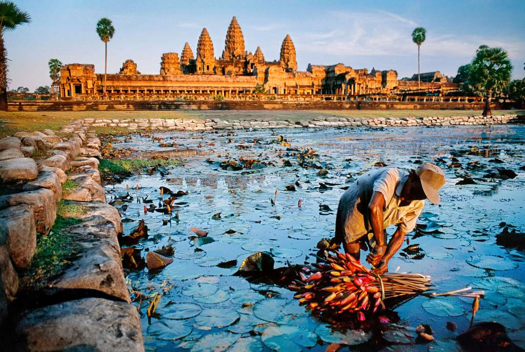 Camboya. Foto Steve McCurry