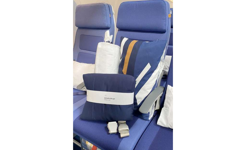 Cama2. Foto Lufthansa