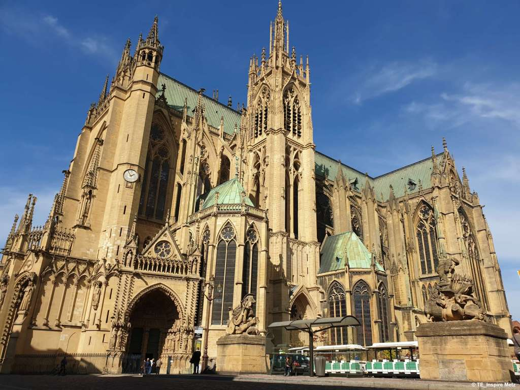 La presencia gótica de la catedral